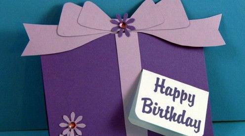 Birthday gift etiquette - birthday message