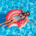 Cool birthday gifts - funny pool floater