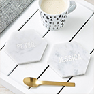Cool birthday gifts - marble coasters