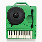 Cool birthday gifts - portable record player