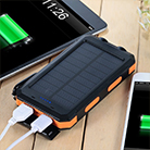 Cool birthday gifts - solar-powered charger