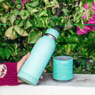 Cool birthday gifts - water bottle with detachable Bluetooth speaker