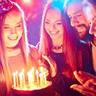 plan a surprise party - organise evening