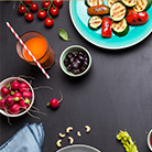 plan a surprise party - plan the food and beverages