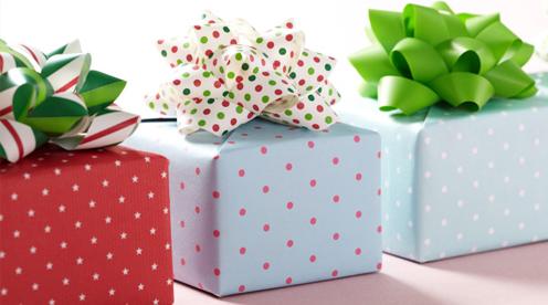 Birthday gift etiquette - stick