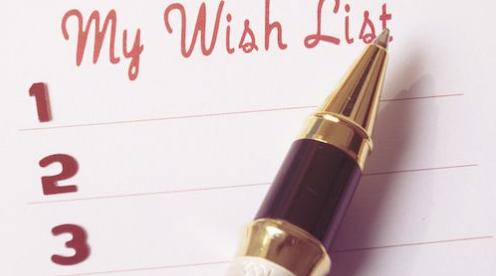 Birthday gift etiquette - wishlist