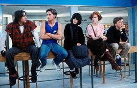 christmas friends movie - The Breakfast Club