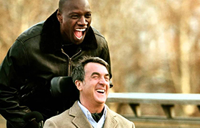 christmas friends movie - The Intouchables