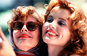 christmas friends movie - Thelma and Louise