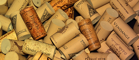 Decorative wine cork
