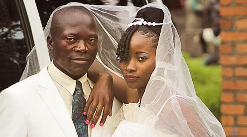 wedding traditions in Congo